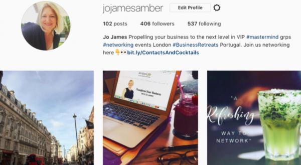Jo James Amber Instagram