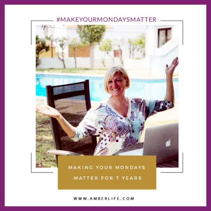 Make Your Mondays Matter Free Action Steps Newsletter by Jo James AmberLIfe
