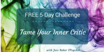 Tame Your Inner Critic with Jess Baker