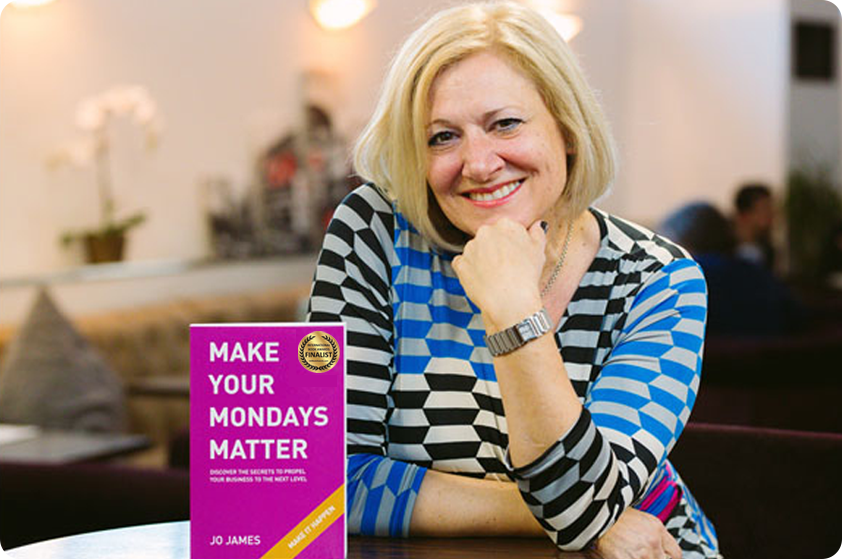 Make your mondays matter business book for entrepreneurs, business women, business development, get organised, Business growth book make more sales
