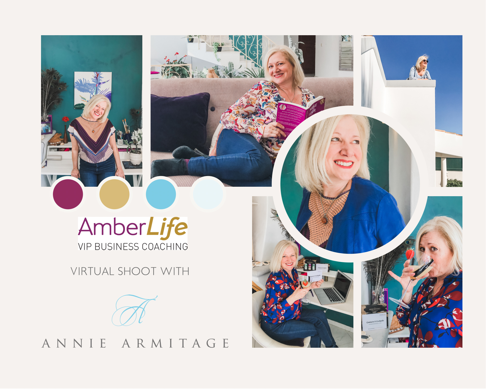 Client Spotlight Annie Armitage introducing The Virtual Photoshoot CompanyBlog by Jo James AmberLife